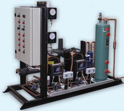 Комплектные холодильные машины на базе компрессора Copeland